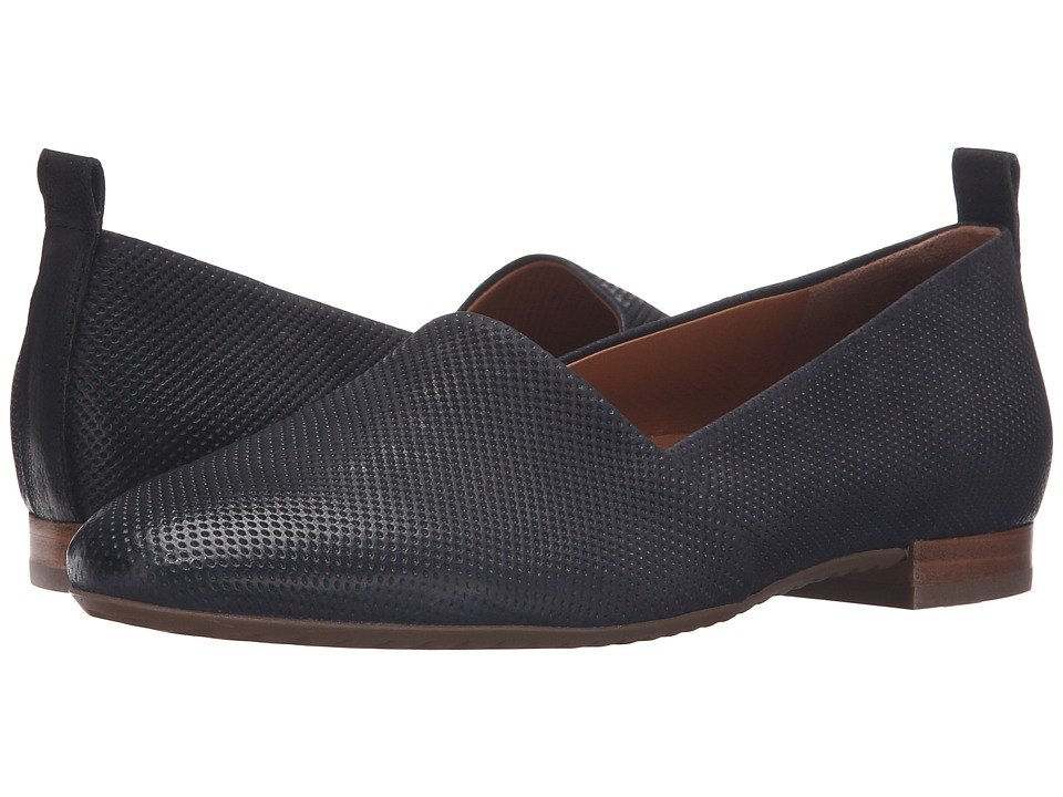 Paul Green Anita Flat (Black Perf) Women