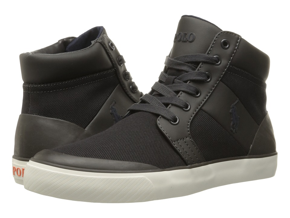 Polo Ralph Lauren - Isaak (Slate Grey Pique Nylon) Men's Shoes