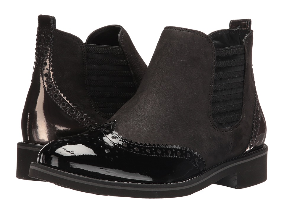 Paul Green - Jordy Boot (Black Combo) Women's Boots
