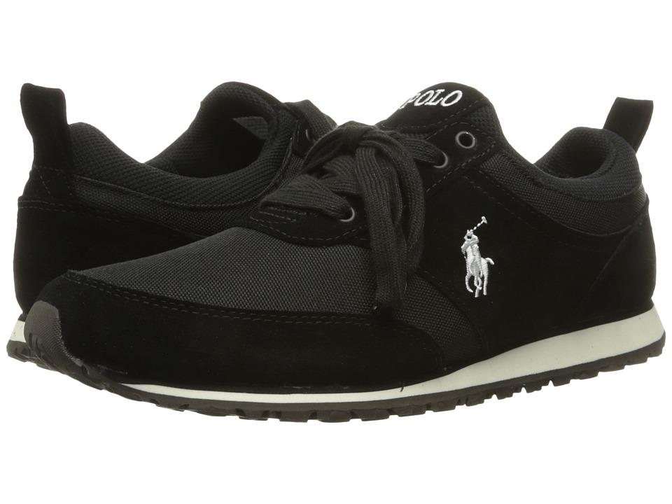 Polo Ralph Lauren - Ponteland (Black Sport Suede/Cordura) Men's Shoes