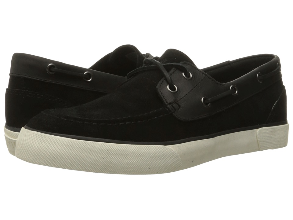 Polo Ralph Lauren - Rylander (Black/Black Sport Suede/Smooth Oil Leather) Men's Shoes
