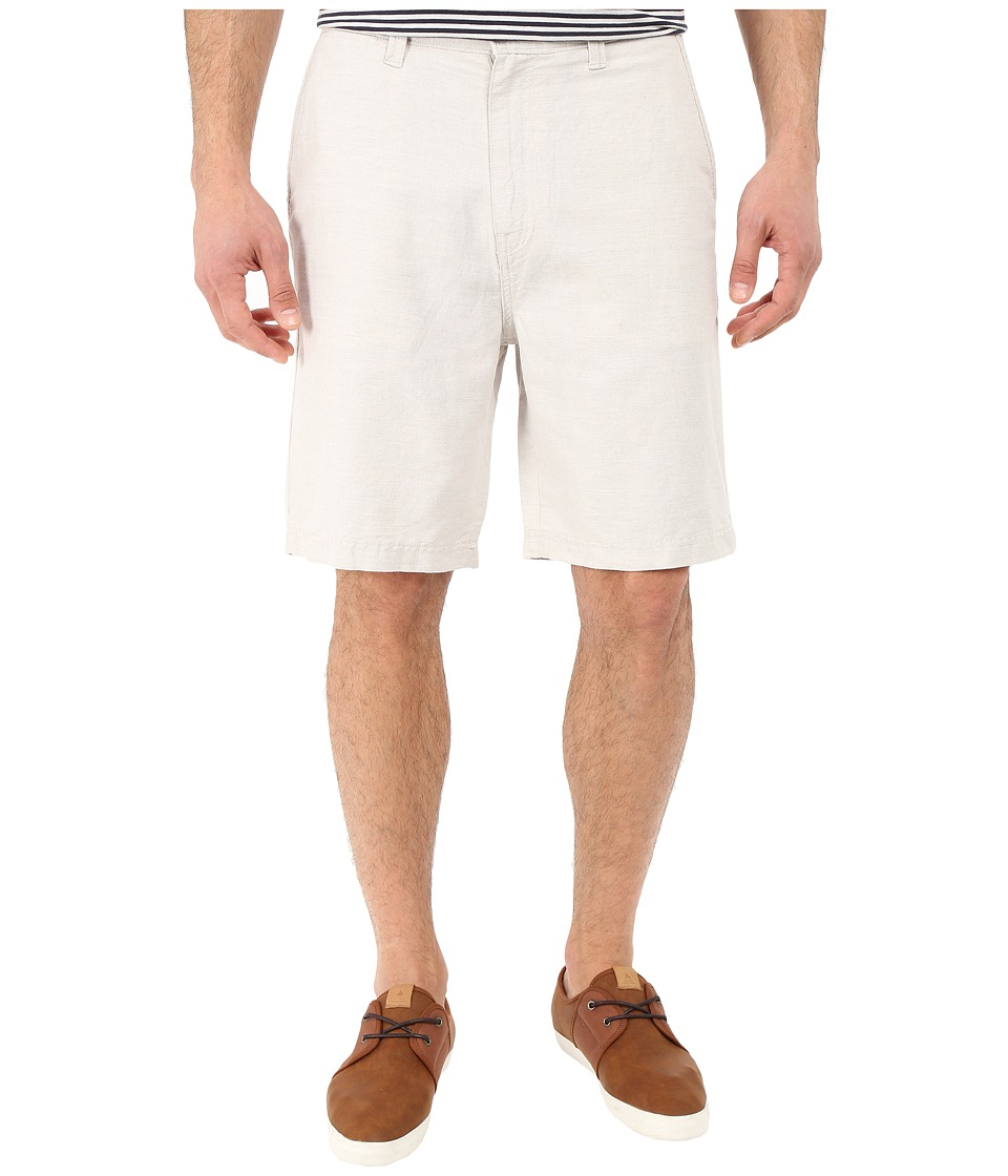 Nautica - Deck Linen/Cotton Shorts (Wheat Flax) Men's Shorts