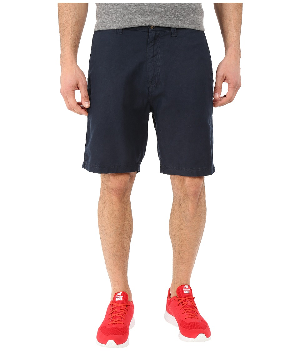 Nautica - Deck Linen/Cotton Shorts (True Navy) Men's Shorts