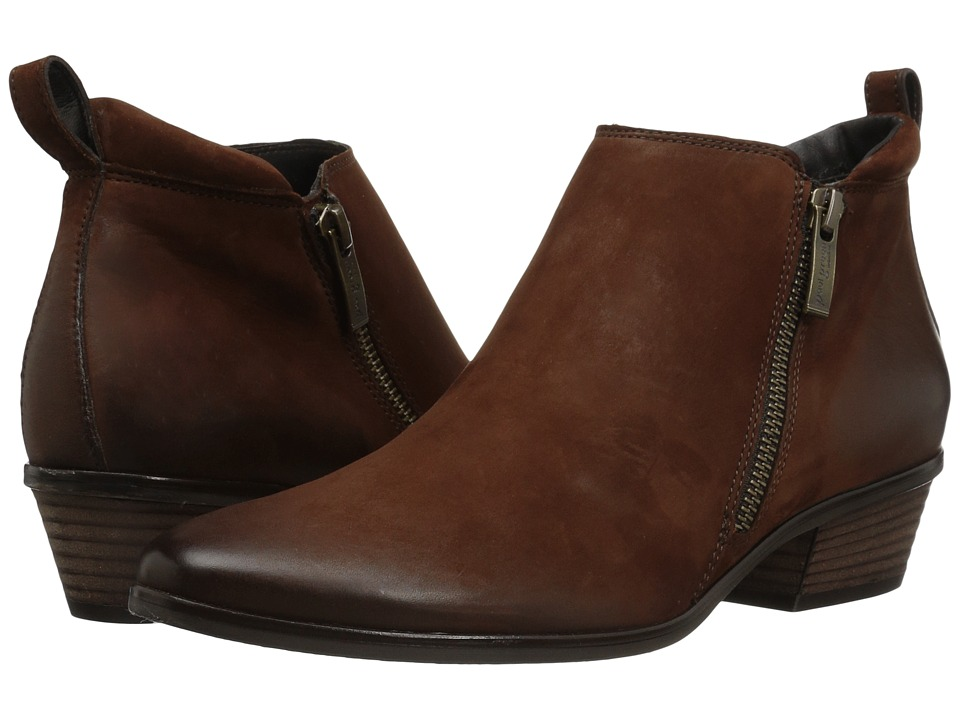 Paul Green Jillian Bootie (Cigar Nubuk) Women
