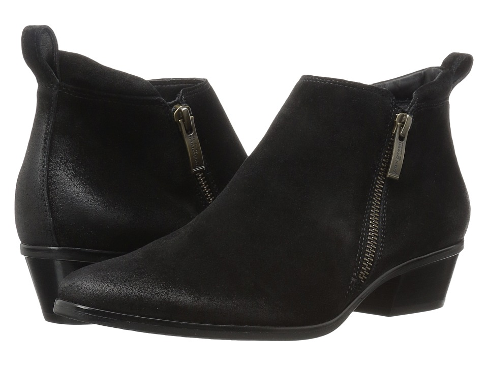 Paul Green - Jillian Bootie (Black Suede) Women's Boots