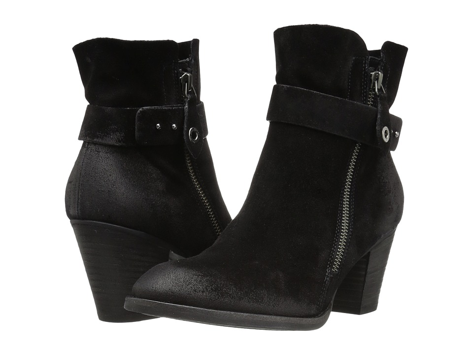 Paul Green Dallas Boot (Black Suede) Women