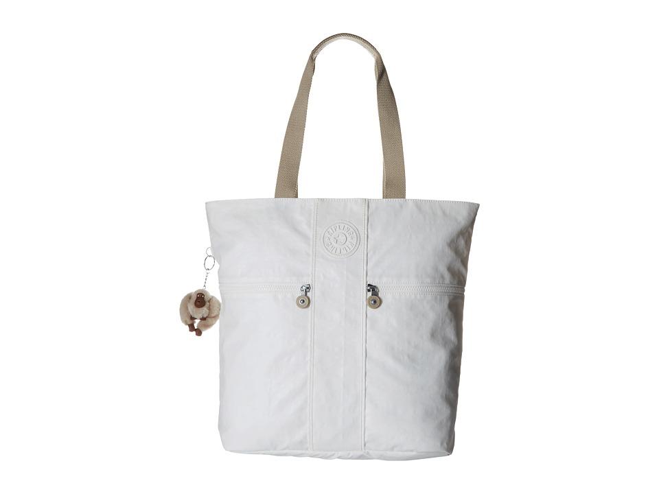 Kipling - Regina Tote (Laquer Pearl Combo) Tote Handbags