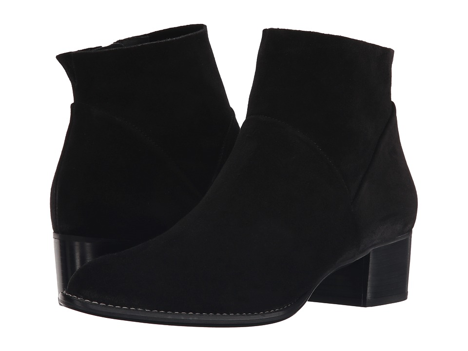 Paul Green - Faye Bootie (Black Suede) Women's Boots