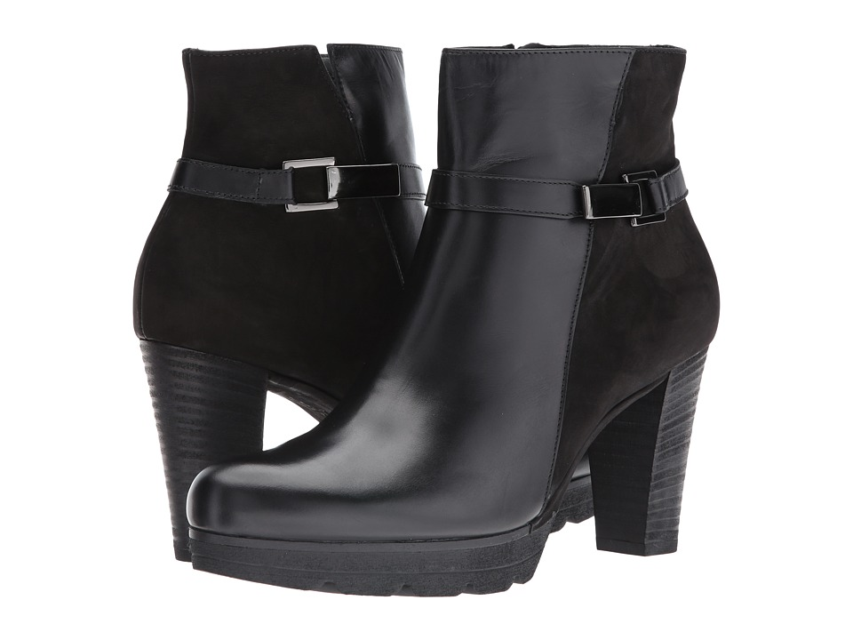 Paul Green Jolie Bootie (Black Combo) Women