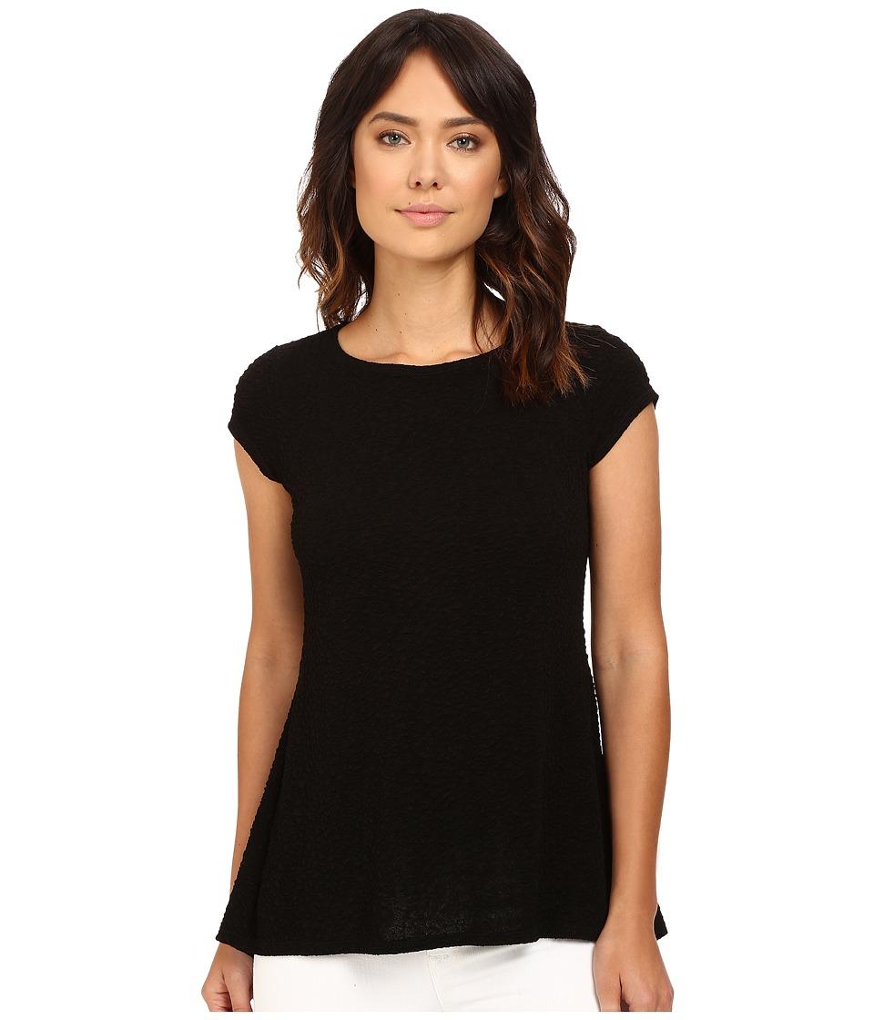 rsvp - Ashling Bubble Knit Top (Black) Women's Clothing