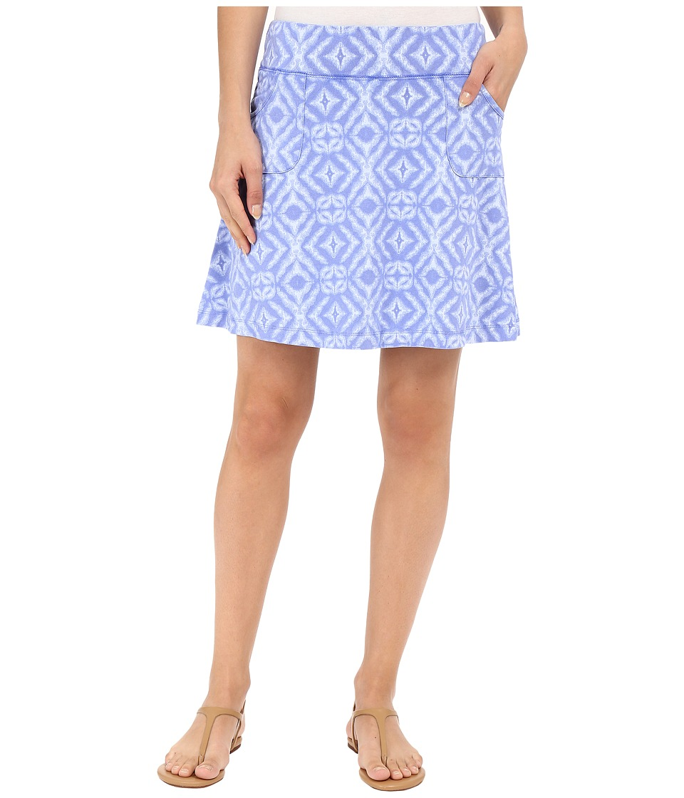 Fresh Produce - Shibori City Skort (Peri Blue) Women's Skort