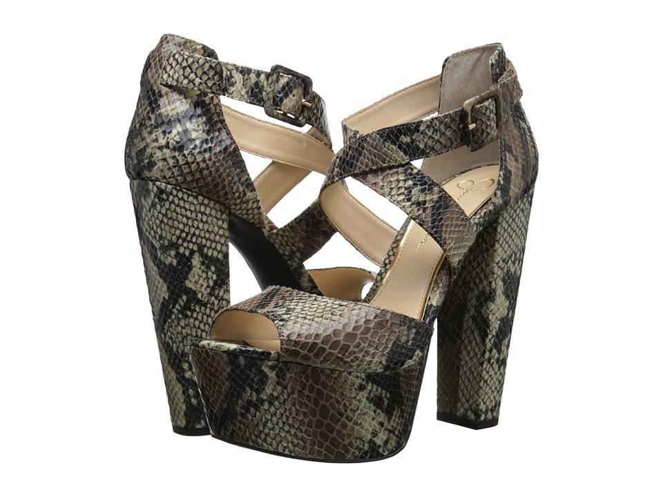 Jessica Simpson Derian (Natural) High Heels