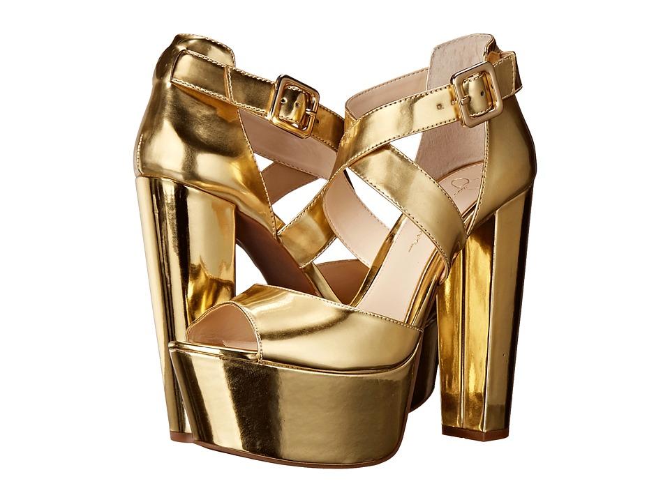 Jessica Simpson - Derian (Gold) High Heels