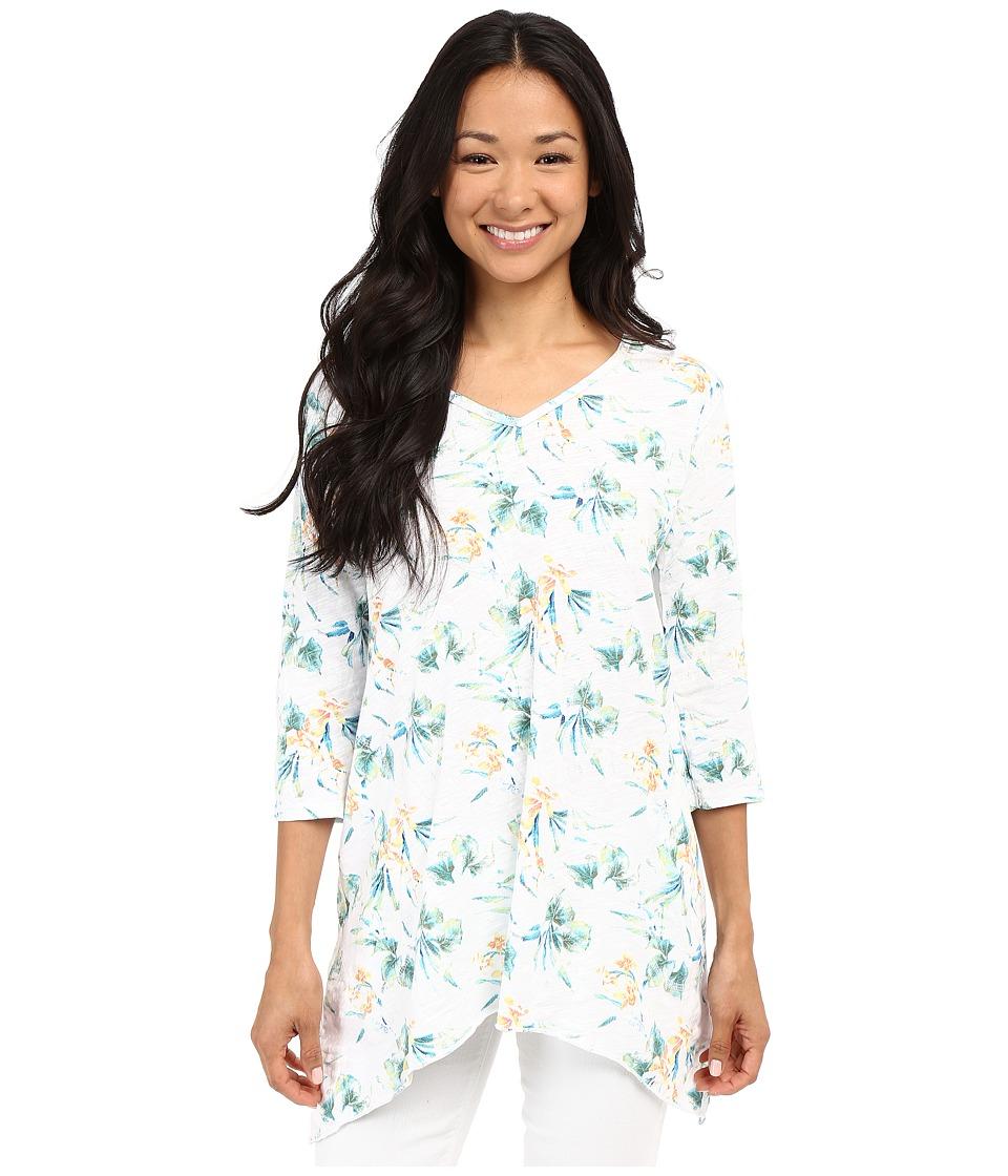 Fresh Produce - Paradise Santa Barbara Top (White) Women's Long Sleeve Pullover
