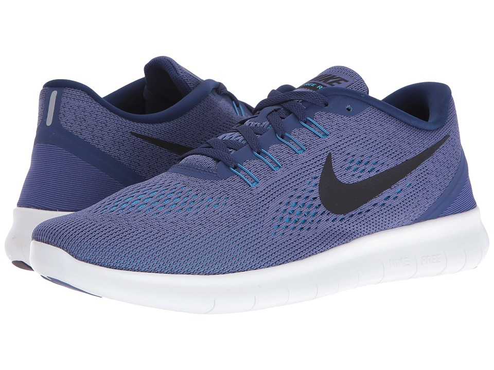 Nike - Free RN (Dark Purple Dust/Loyal Blue/Blue Glow/Black) Men's Running Shoes