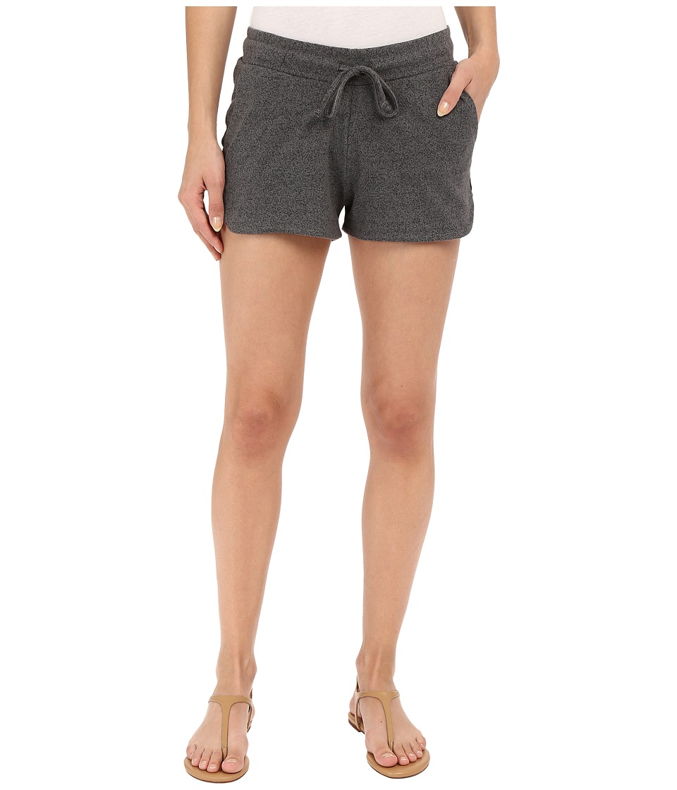 Alternative - Mock Twist Jersey Runner Shorts (Eco Black) Women's Shorts