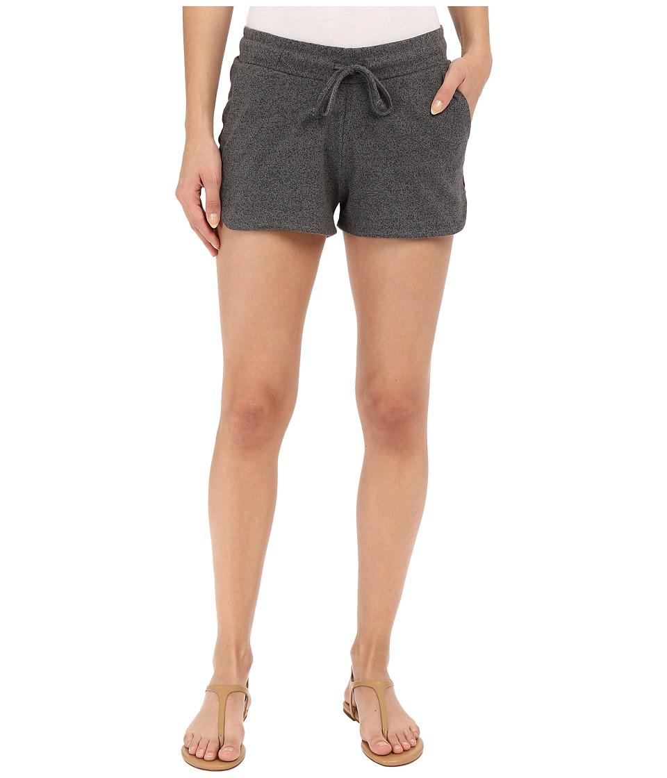 Alternative - Mock Twist Jersey Runner Shorts (Eco Black) Women's Shorts