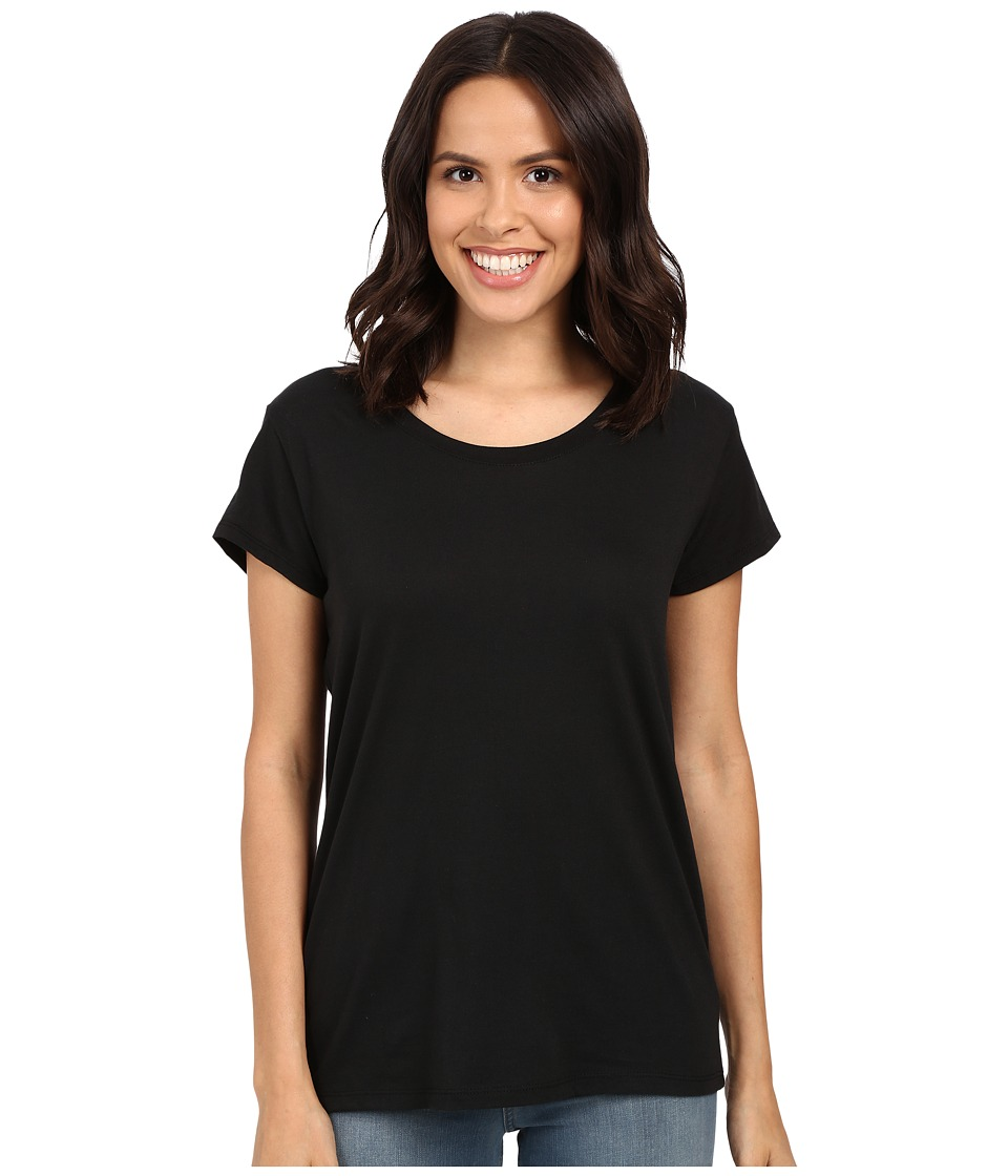 Alternative - Modal Drop Sleeve Tee (Black) Women's T Shirt
