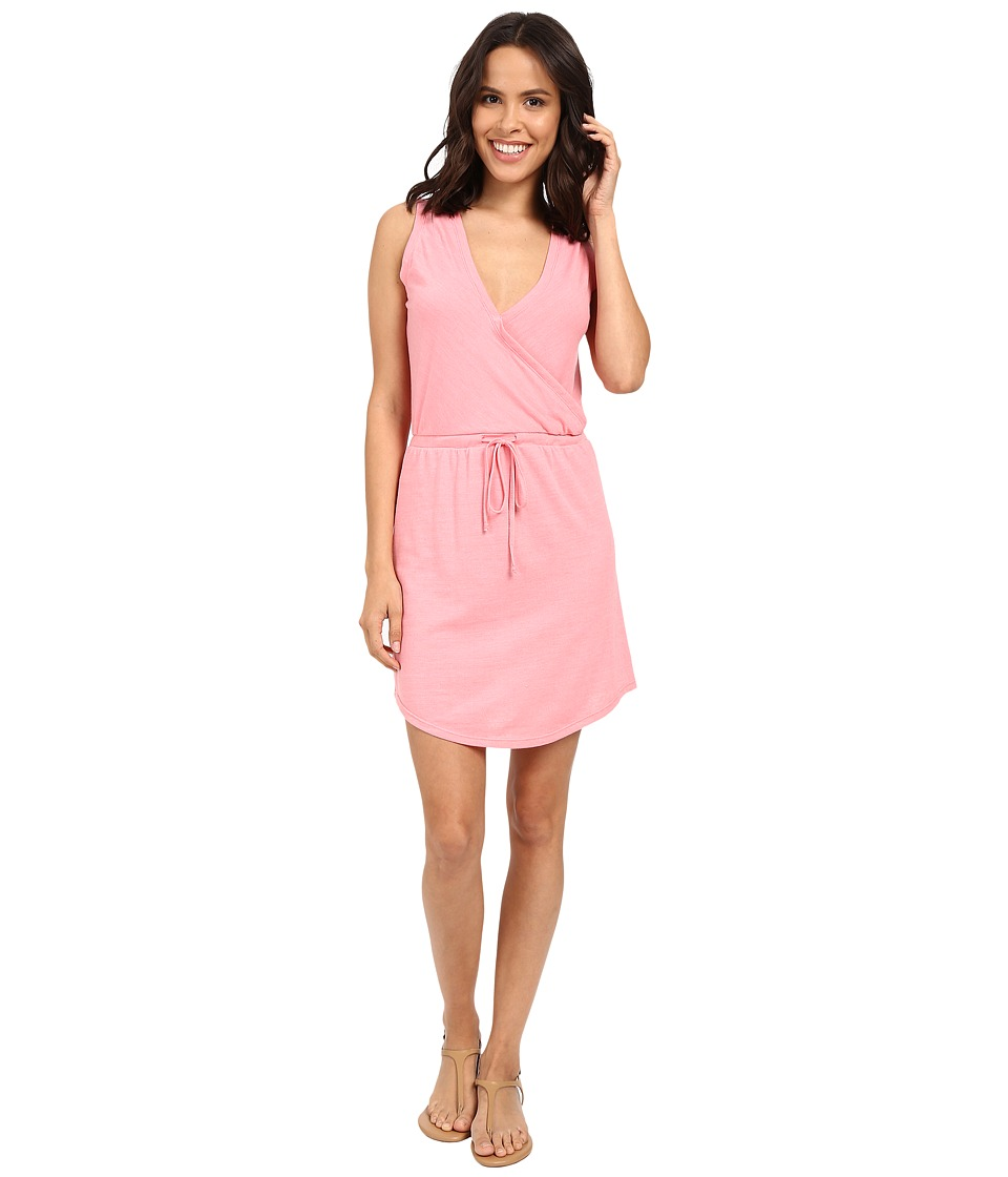 Alternative - Waist Tie Mini Dress (Eco True Dixie Pink) Women's Dress
