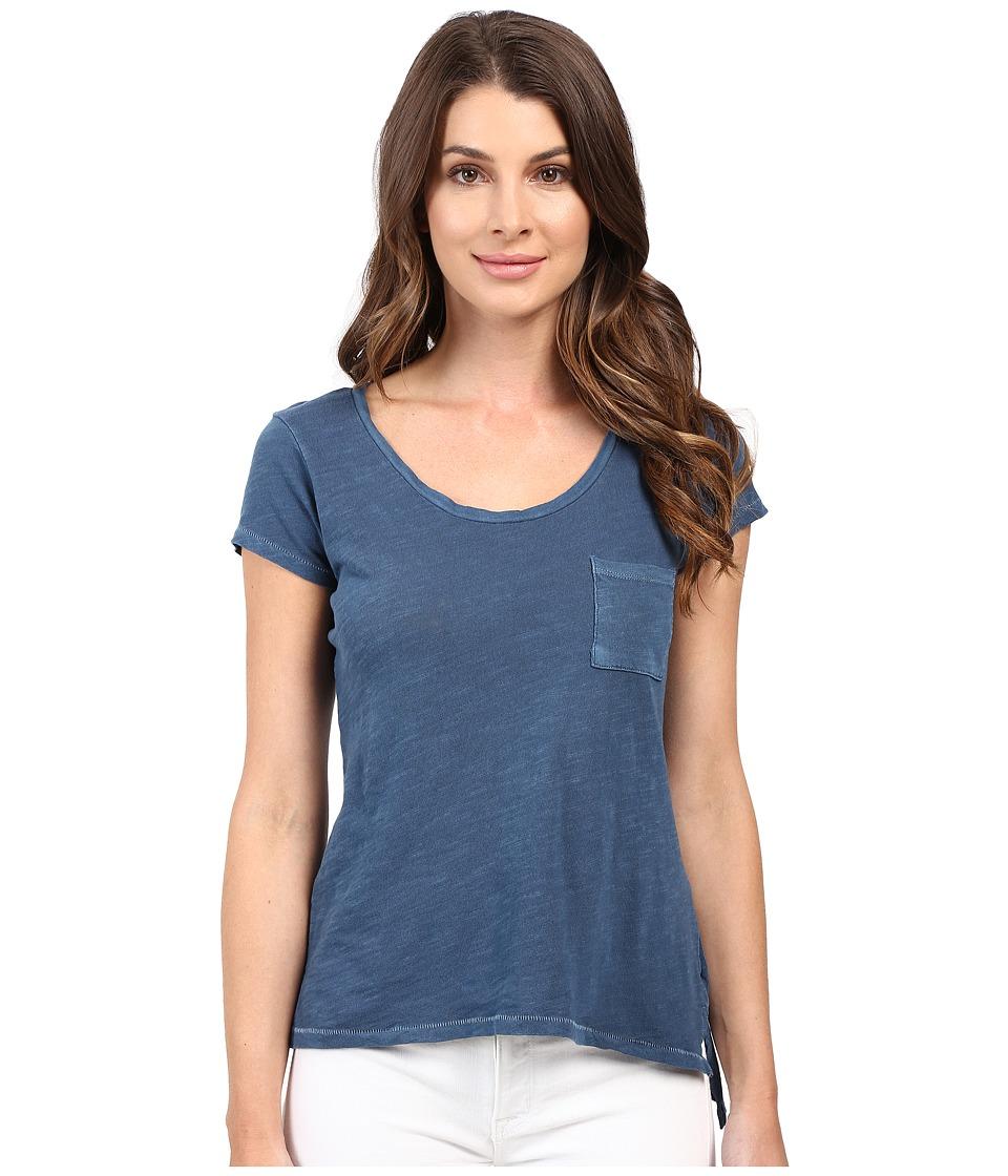 Alternative - Slub Favorite Tee (Mineral Blue) Women's T Shirt