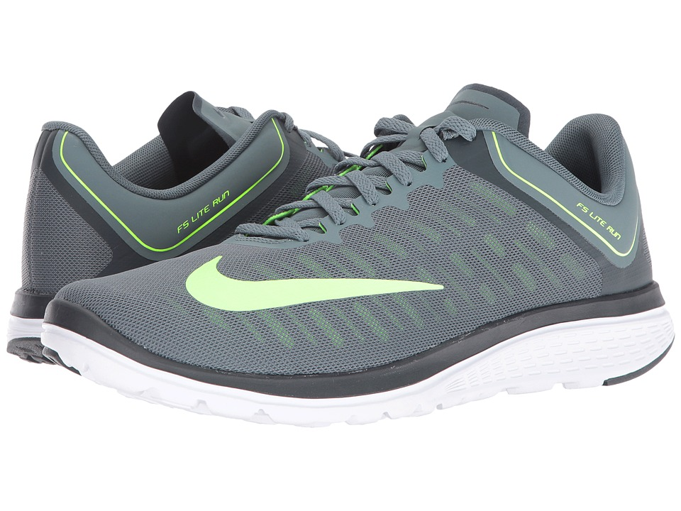 Nike - FS Lite Run 4 (Hasta/Ghost Green/Seaweed/White) Men's Running Shoes