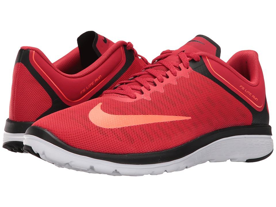 Nike - FS Lite Run 4 (University Red/Total Crimson/Black/White) Men's Running Shoes