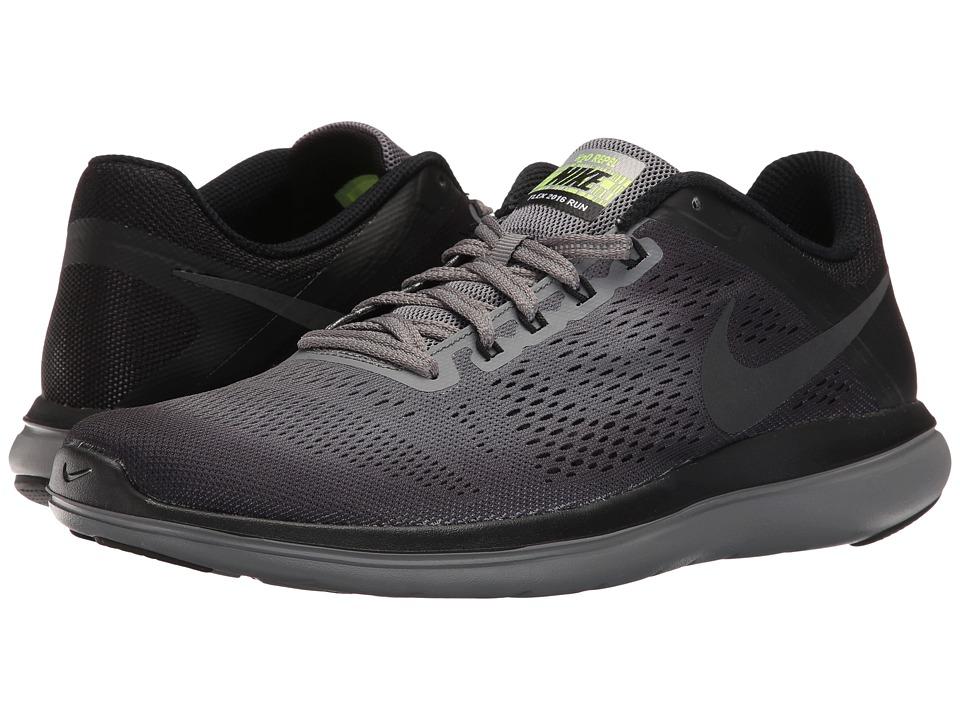 Nike - Flex 16 RN Shield (Cool Grey/Metallic Hematite) Men's Running Shoes
