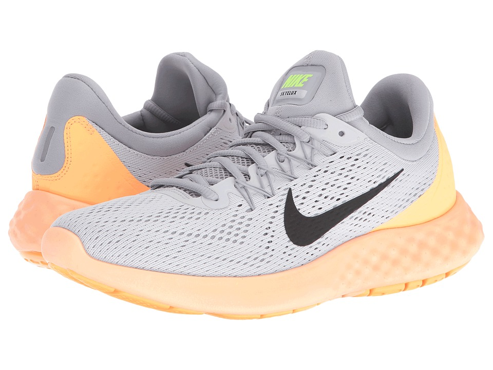 Nike - Lunar Skyelux (Pure Platinum/Wolf Grey/Peach Cream/Black) Men's Running Shoes