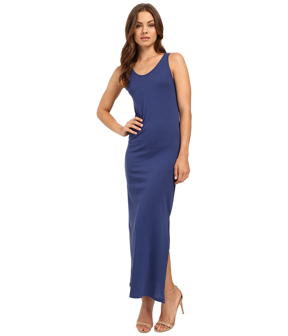 Alternative - Modal Racer Midi Dress (Navy) Women's Dress