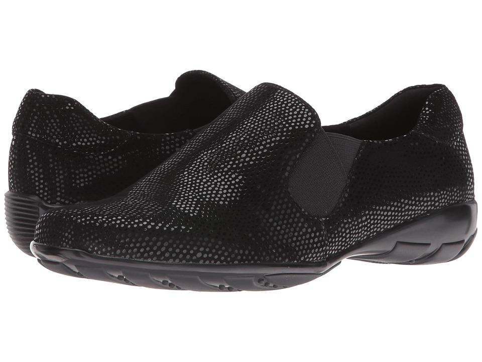 Vaneli - Ace (Black Ecco E-Print) Women's Slip-on Dress Shoes