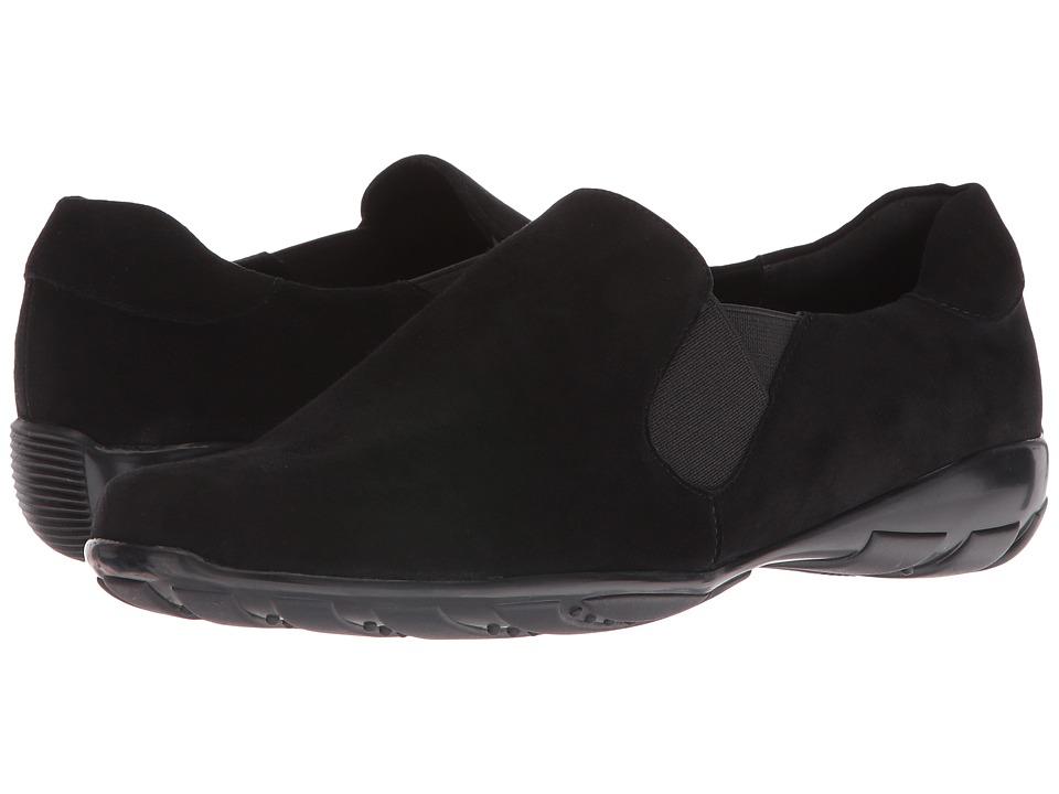 Vaneli - Ace (Black Ecco Suede) Women's Slip-on Dress Shoes