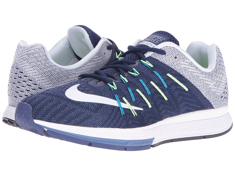 Nike - Air Zoom Elite 8 (Loyal Blue/White/Palest Purple/Dark Purple) Men's Running Shoes