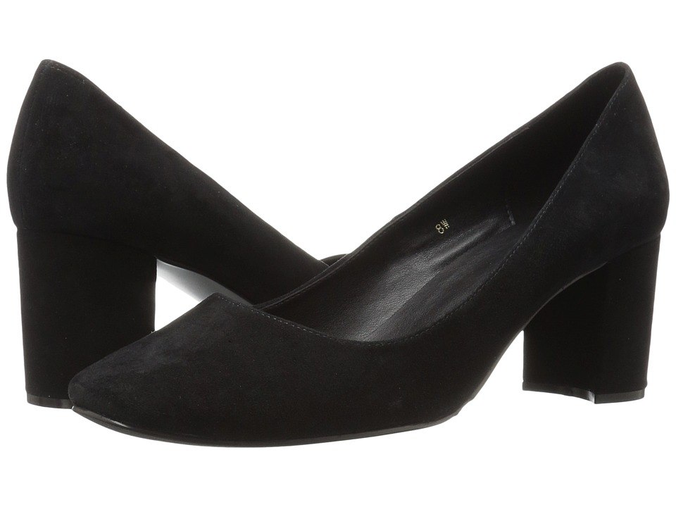 Vaneli - Dee (Black Ecco Suede) Women's Shoes