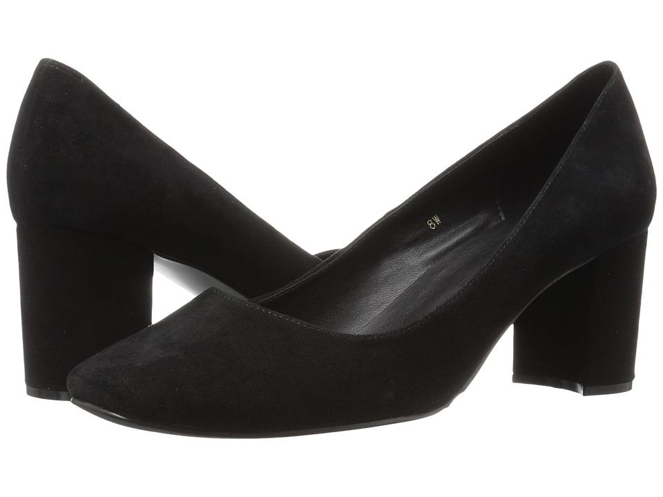 Vaneli - Dee (Black Ecco Suede) Women's Shoes