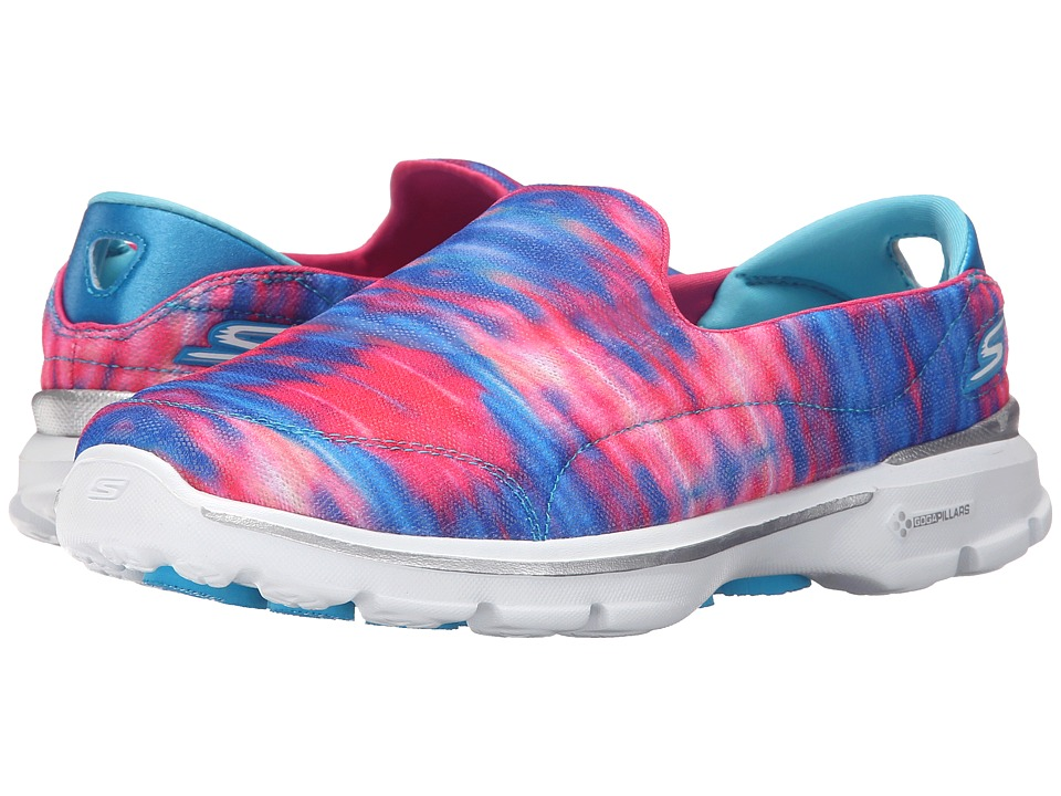 SKECHERS Performance - Go Walk 3 - Swell (Multi) Women's Shoes