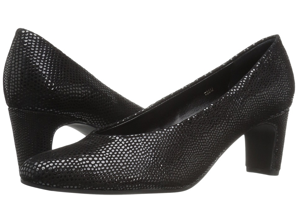 Vaneli - Daire (Black Ecco E-Print) Women's Shoes