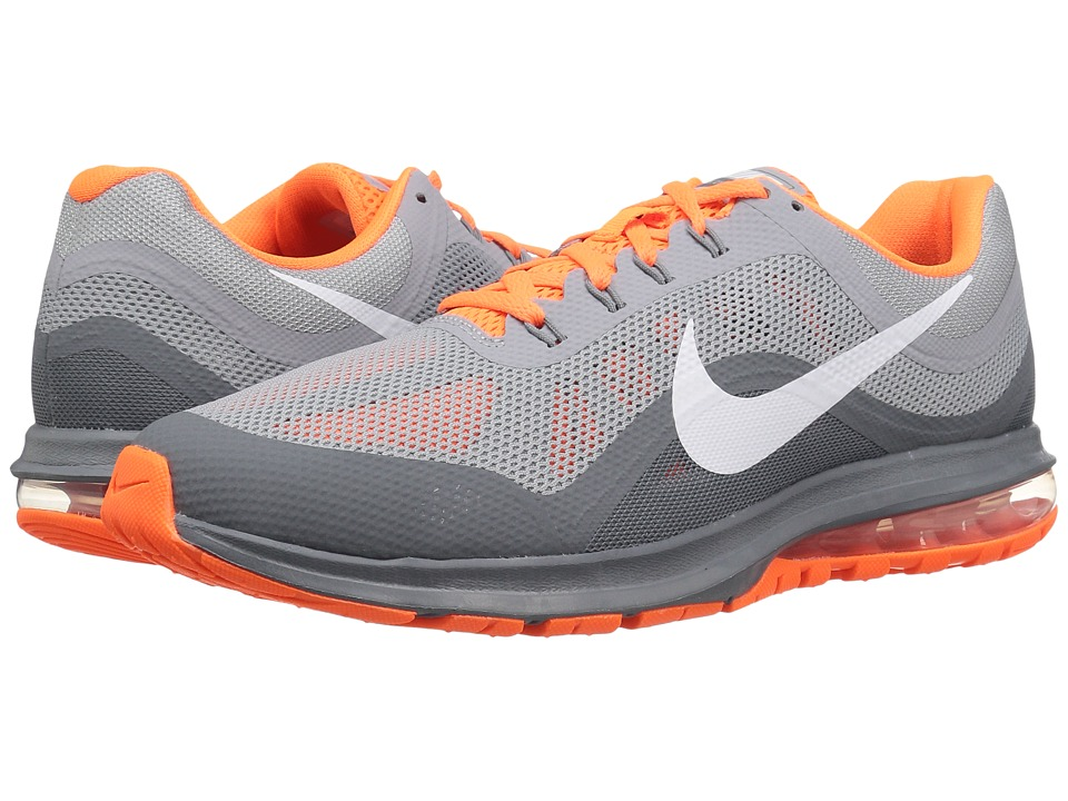 Nike - Air Max Dynasty 2 (Wolf Grey/White/Cool Grey/Total Orange) Men's Running Shoes