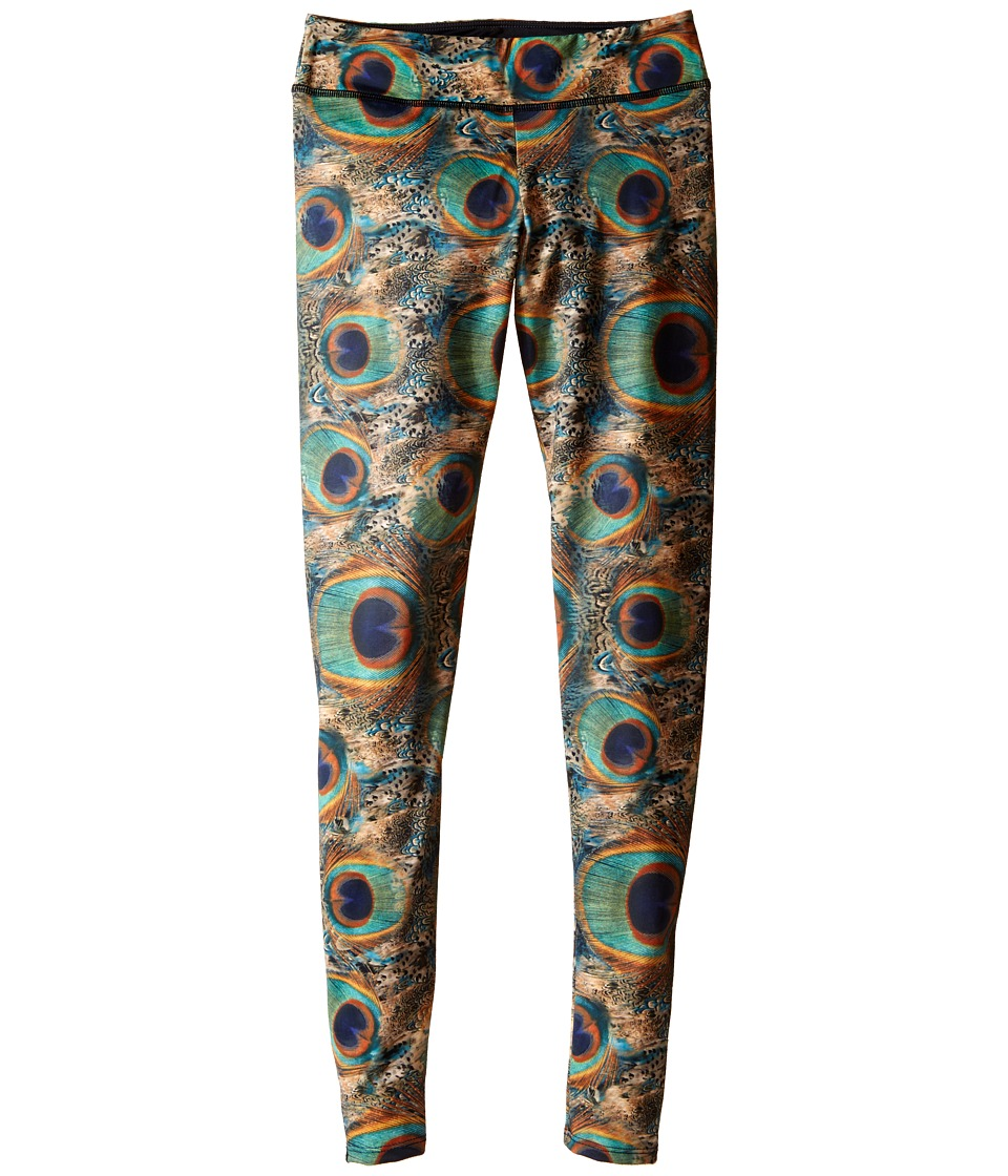 Onzie Kids - Long Leggings (Little Kids/Big Kids) (Peacock Green) Girl's Casual Pants