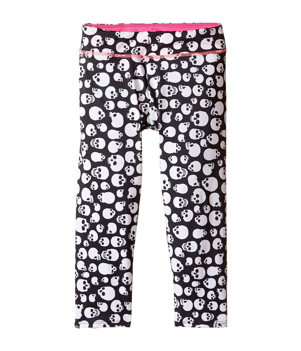 Onzie Kids - Capri Pants (Little Kids/Big Kids) (Skull) Girl's Capri