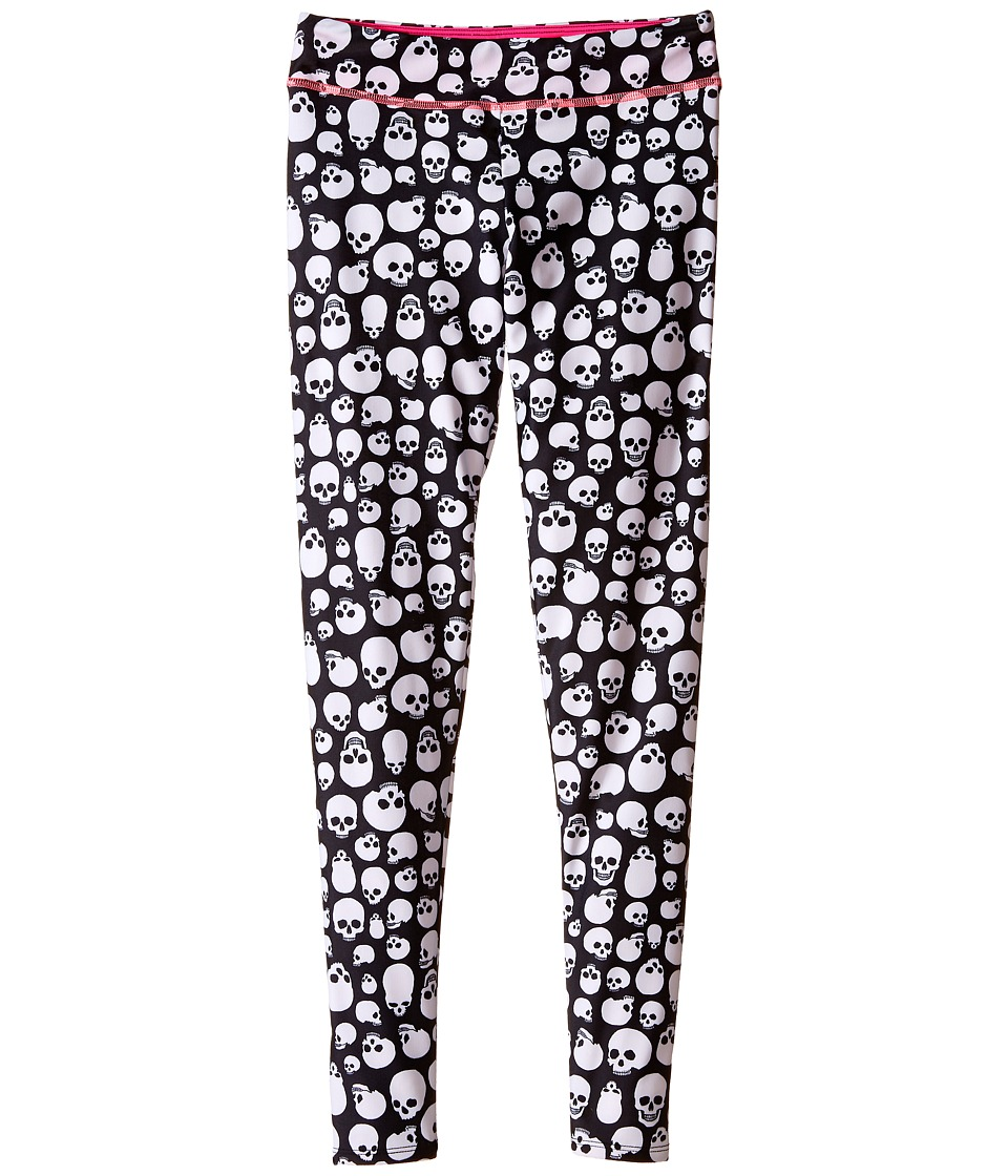 Onzie Kids - Long Leggings (Little Kids/Big Kids) (Skull) Girl's Casual Pants