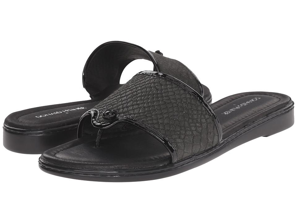 Donald J Pliner - Giaa (Black) Women's Wedge Shoes