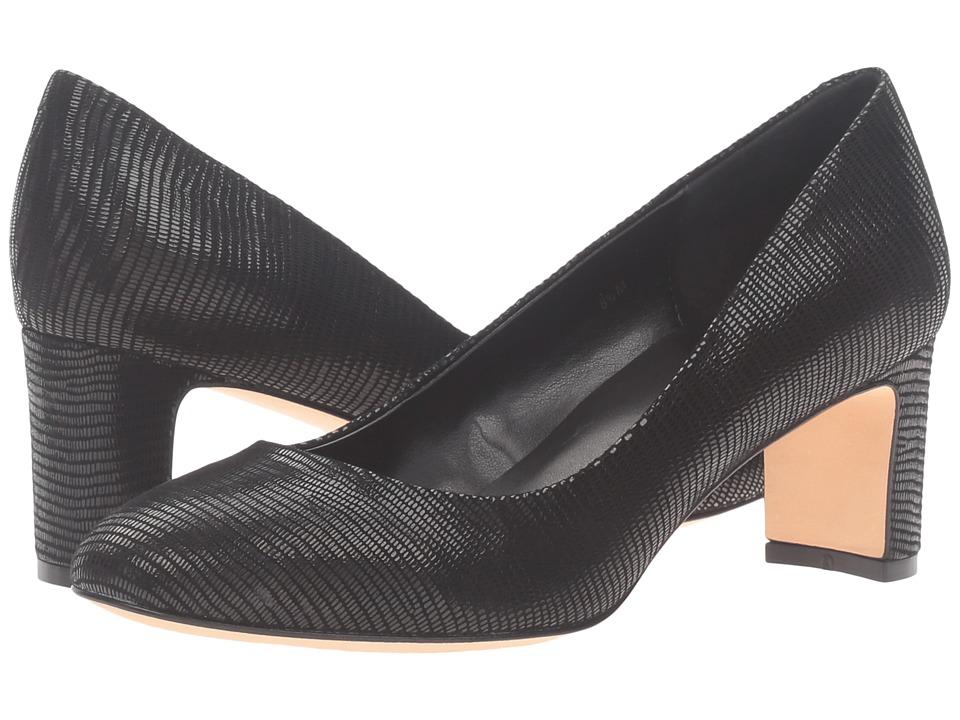 Vaneli - Zelena (Black Miniliz Print) High Heels