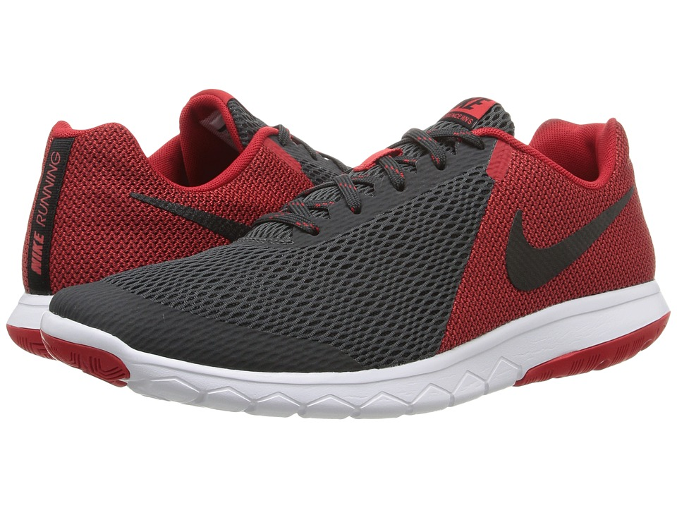 Nike - Flex Experience RN 5 (Anthracite/Black/University Red/White) Men's Running Shoes
