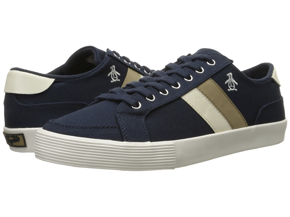 Original Penguin - Omni Canvas (Navy) Men's Shoes