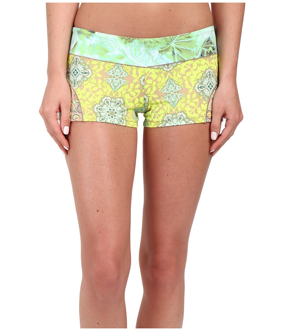 Maaji - Patches of Green Cover-Up Shorts (Multicolor) Women's Swimwear