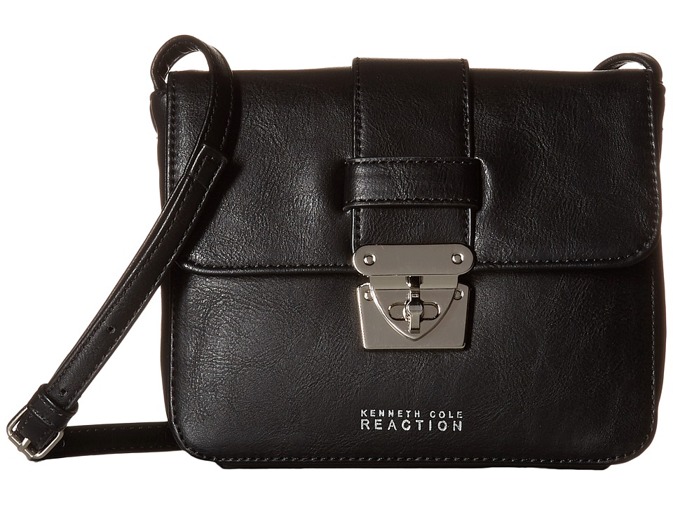 Kenneth Cole Reaction - Locked Up Mini Crossbody (Black) Cross Body Handbags