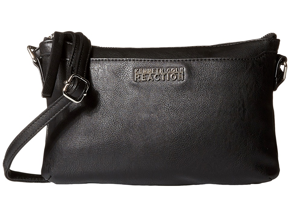 Kenneth Cole Reaction - Right Angles Mini Crossbody (Black) Cross Body Handbags