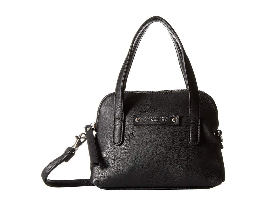 Kenneth Cole Reaction - Bondi Girl Mini Dome Crossbody (Black) Cross Body Handbags