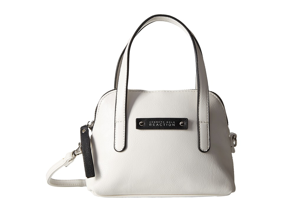 Kenneth Cole Reaction - Bondi Girl Mini Dome Crossbody (Milk) Cross Body Handbags