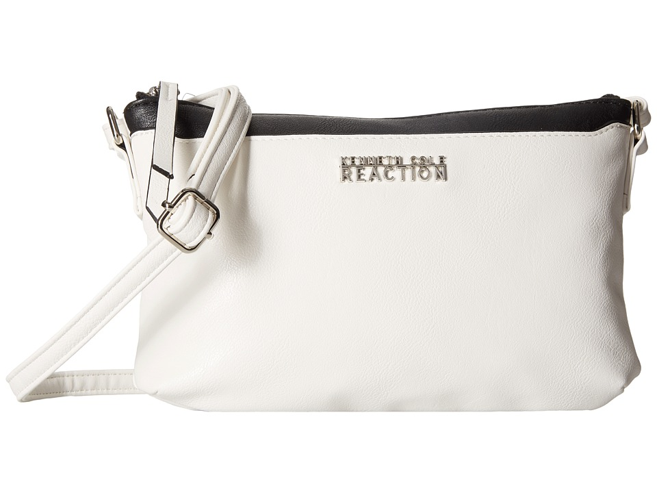 Kenneth Cole Reaction - Right Angles Mini Crossbody (Milk) Cross Body Handbags